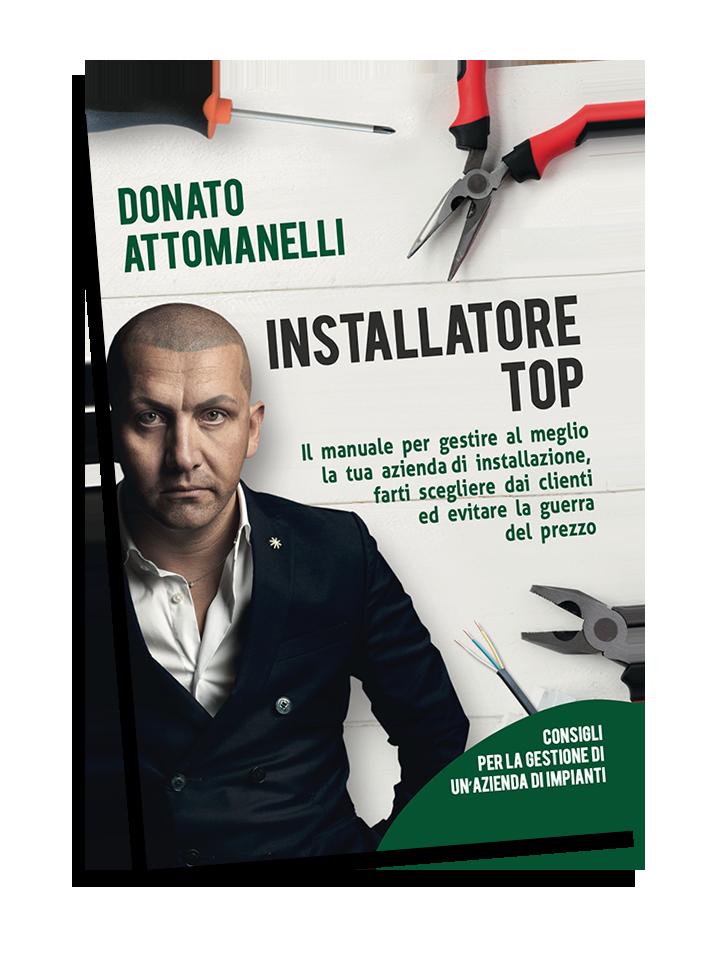 Libro Donato Attomanelli Installatore Top Impiantista Vendita Manuale